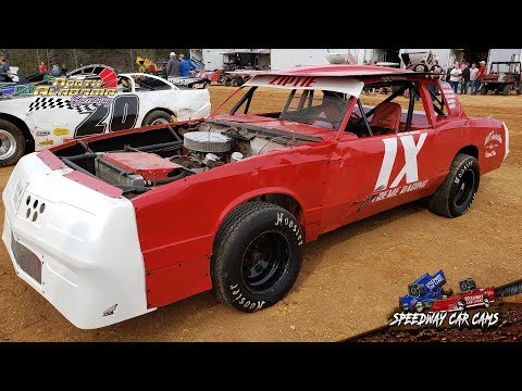 #1X Chris Bryant - Factory Stock - 3-23-19 North Alabama Speedway - In Car Camera