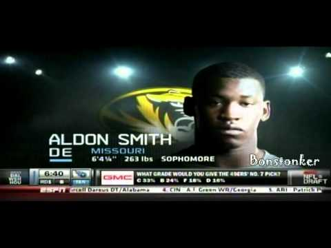 49ers select Aldon Smith