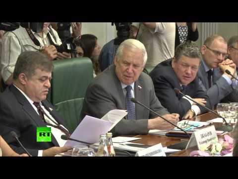 В Совете Федерации проходит обсуждение «Белой книги» по Украине