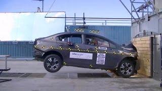 2013 Honda Civic Hybrid Sedan | Frontal Crash Test by NHTSA | CrashNet1