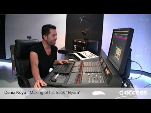 "Access Virus lead sound for Deniz Koyu's ""Hydra"""