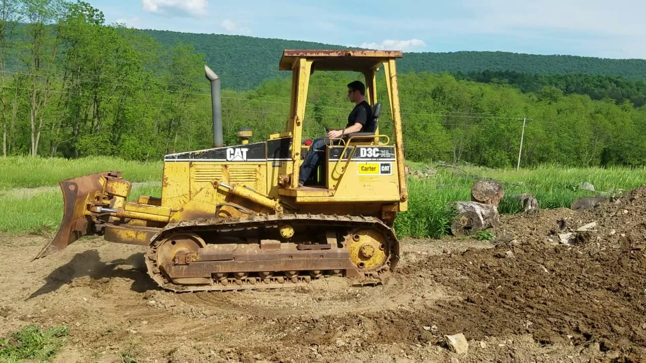 1994 caterpillar D3 C XL Series 3 Power Shift Bull Dozer For Sale Running  And Operating Video!