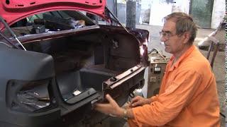 Ремонт АУДИ после ДТП часть 2. Audi repair after an accident part 2 thumbnail
