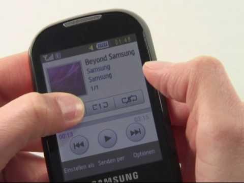 Samsung S3650 Corby Test Musikplayer