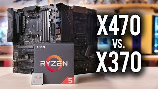 Does Ryzen 2 perform better on X470 than X370??