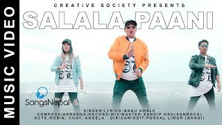"New nepali hip hop & r&b song ""salala pani"" by nabu ghalesinger / lyrics : ghalecompose arrange record mix master sandip grg (sanrock)acts r..."