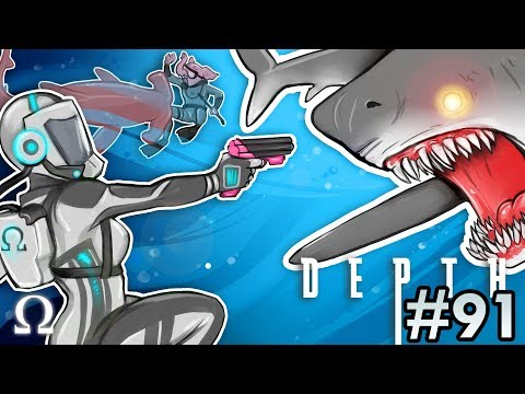 SHARKS LOVE MY ROBOT BOOTY! | Depth #91 Divers vs Sharks Ft. Cartoonz, Gorilla