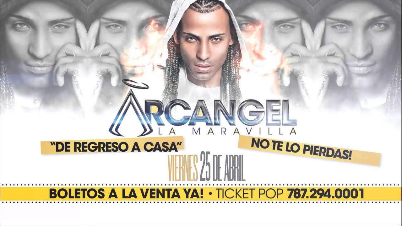 Arcangel comercial Coliseo de Puerto Rico 25 de Abril 2014 (Promo)
