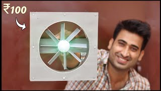 Very Powerful Exhaust Fąn || How To Make Exhaust Fan || Exhaust Fan kaise banaye