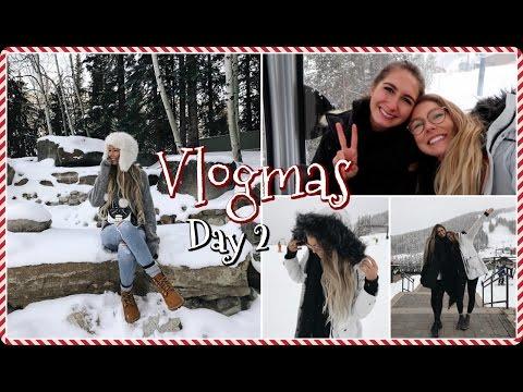 VLOGMAS DAY 2 // Winter Photoshoot!
