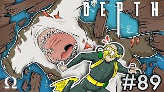 GIVING THEM THE SLAMMA JAMMA! (Hammerhead Shark) | Depth #89 Divers vs Sharks Ft. Cartoonz