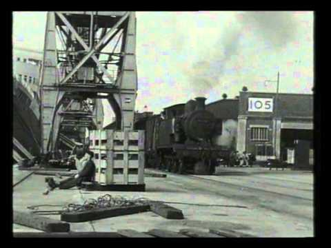 Railway Roundabout 1958 'Southampton Docks'