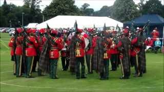 Perth 2013 - Royal Army of Oman Pipe Band