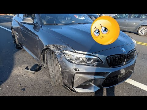 My BMW M2 was in a ACCIDENT and it's BAD!!!