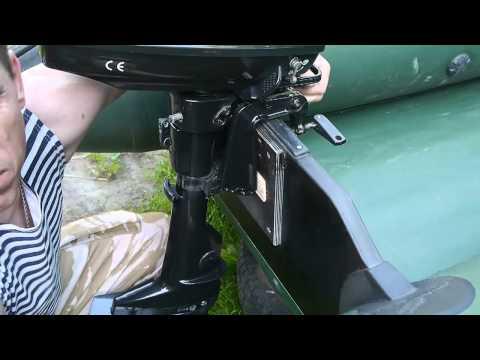 Как отрегулировать лодочный мотор на лодку пвх видео
