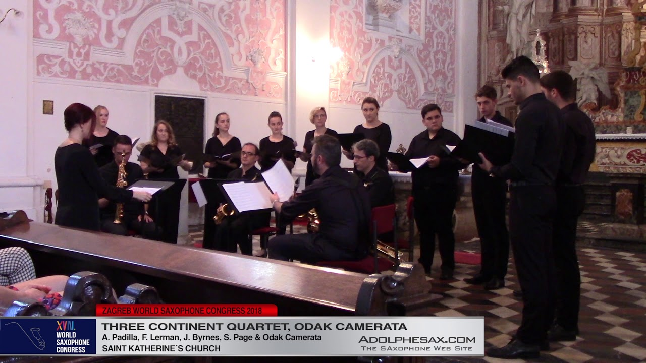 Todos los dioses , el Dios by Fernando Lerman -  Three Continent Quartet and Odak Camerata