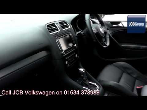 2012 Volkswagen Golf R 2l Candy White GK62ONO for sale at JCB VW Medway