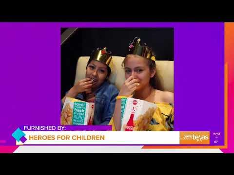 WFAA Channel 8 in Dallas - Spotlight on Heroes for Children