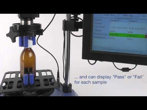 Child-resistant Closure Torque Testing with the Vortex-xt - Mecmesin Torque Measurement