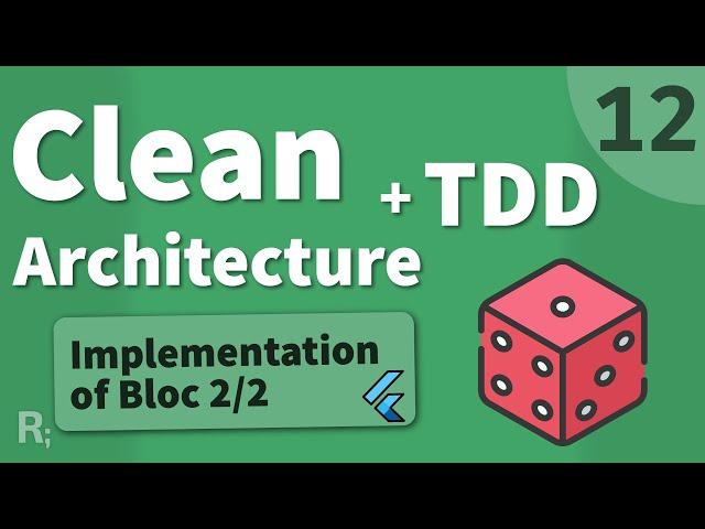 Flutter TDD Clean Architecture Course [12] – Bloc Implementation 2/2
