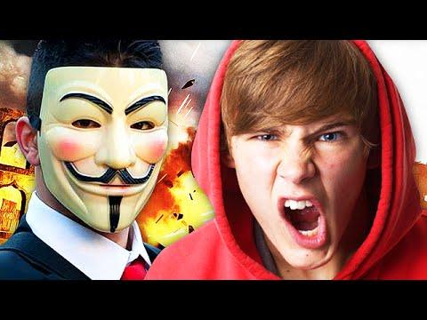 Anonymous Hacker TROLLING on Call of Duty! (Hilarious Advanced Warfare Troll) LTLICKME