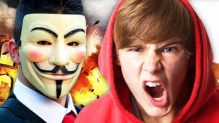 Anonymous Hacker TROLLING on Call of Duty! (Hilarious Advanced Warfare Troll) LTLICKME
