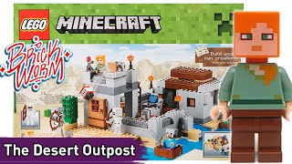 Lego Minecraft: The Desert Outpost (21121) - Brickworm