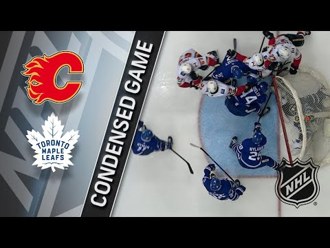 12/06/17 Condensed Game: Flames @ Maple Leafs