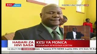 Mshukiwa wa mauwaji wa Monica afikishwa kortini | KTN Leo Mashinani