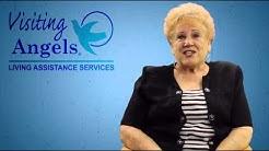 Senior Care Testimonial For Visiting Angels in Las Vegas