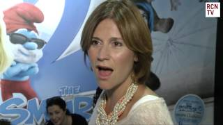 Harriet Scott Interview The Smurfs 2 Premiere