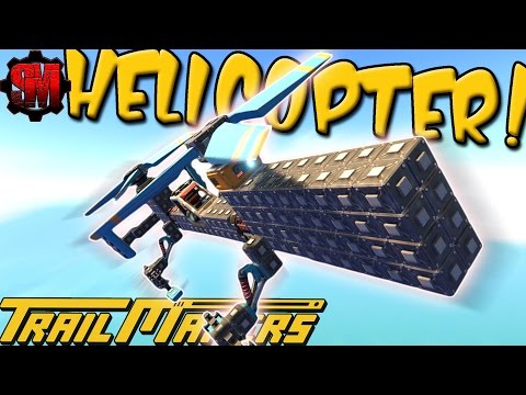 HELICOPTER PROBLEMS! - TrailMakers Gameplay Ep10