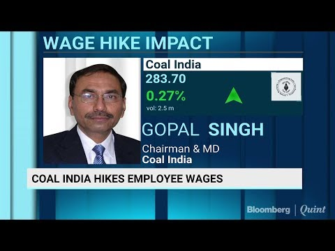 Coal India Signs Salary Increase Deal With Workers Unions