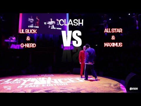 LIL BUCK & GNERD vs ALLSTAR & MAXIMUS   Clash   Fusion Concept 2017