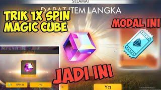 CARA MENDAPATKAN MAGIC CUBE DI FF 1X SPIN ! - Axcal Free Fire