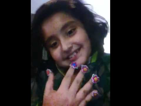 Best 8 Year Old Nail Art Ever Youtube