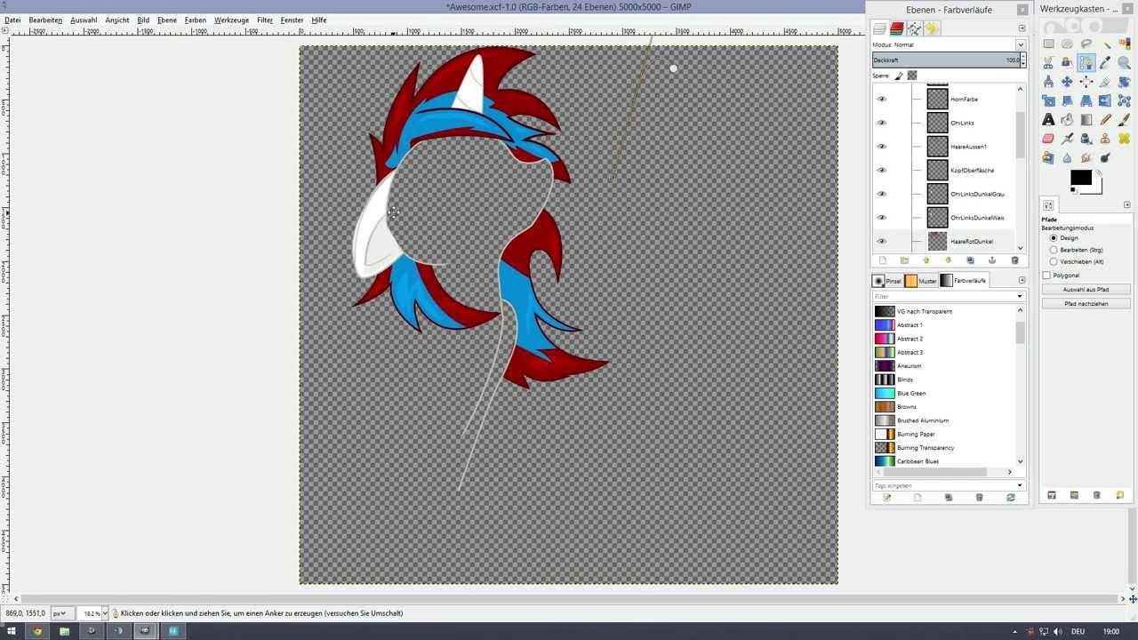 gimp 2 tutorial vectoren zeichnen pfade tool youtube löwe vektorgrafik blume vektor