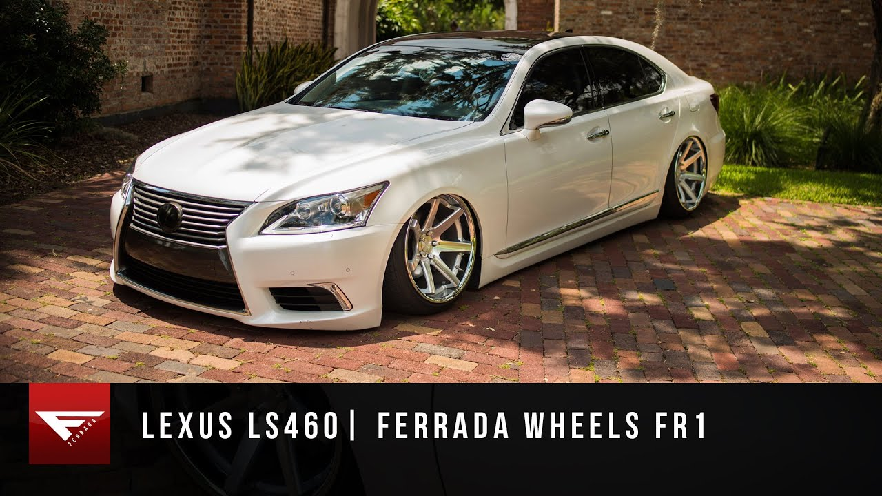 2015 Lexus Ls460 Bagged Air Ride Ferrada Wheels Fr1