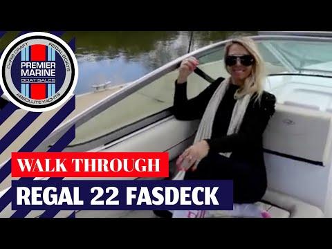 REGAL 22 FASDECK- the Ultimate Big Little Day Boat! For Sale by Premier Marine Boat Sales Sydney!