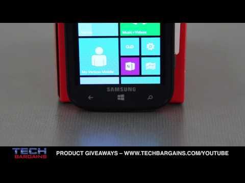 Samsung Ativ Odyssey (Verizon Wireless) Video Review (HD)