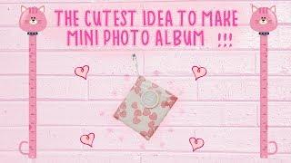 Sliding Mini Photo ALBUM! Simple Birthday Gift Idea