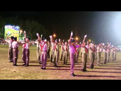 Mabini NHS Facy Drill Entry 16th BSP Nat'l Jamboree