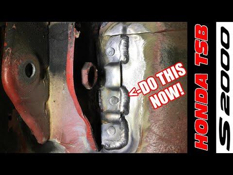 S2000 Upper Control Arm Mount Fix – Honda TSB DIY