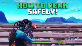 How to Peek Safely & Ghost Peek! - (Fortnite Battle Royale)