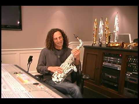 Kenny G alto saxophone