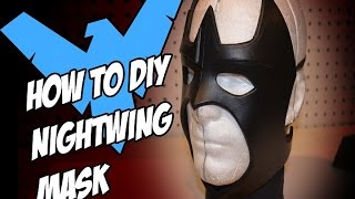 NightWing How to DiY Batman Arkham Knight Costume Cosplay Pt 1