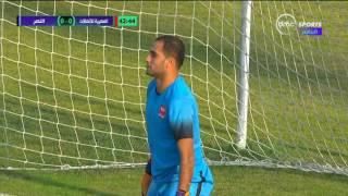 دوري dmc - تسديدة رائعة من خالد رضا لاعب النصر وحارس الاتصالات يتصدى ببراعة