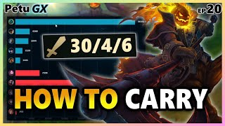 UNIRONICALLY The Best Hecarim Jungle Game EVER vs Top 1% Of EUW League of Legends - Petu GX [EP 20]
