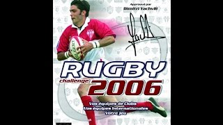 RUGBY challenge 2006 video decouverte [FR][HD]