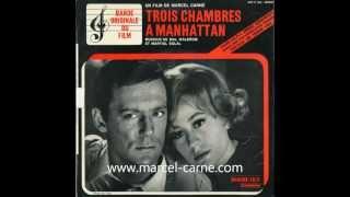 """Martial Solal """"Dans la rue"""" - Trois Chambres à Manhattan (Marcel Carné )"""